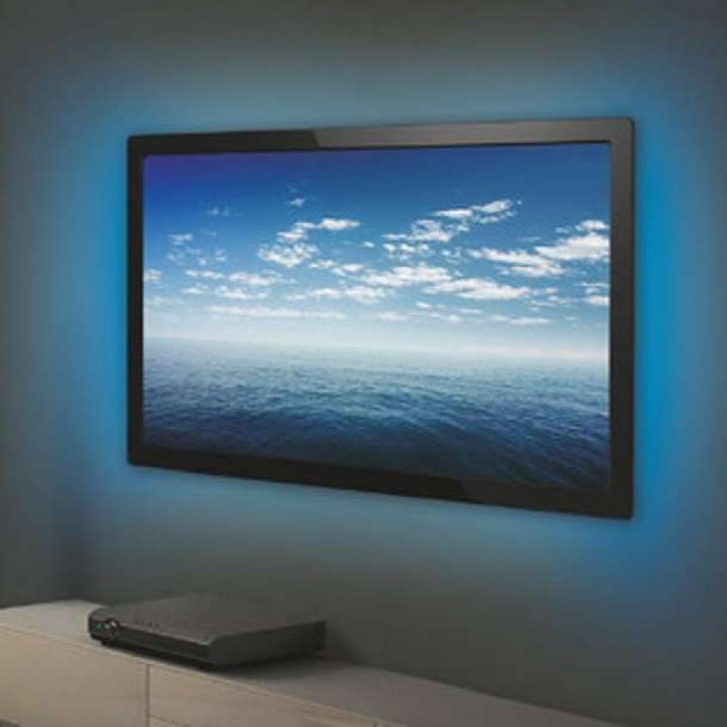 Tira led rgb para televisi n con conexi n usb for Tiras led para tv