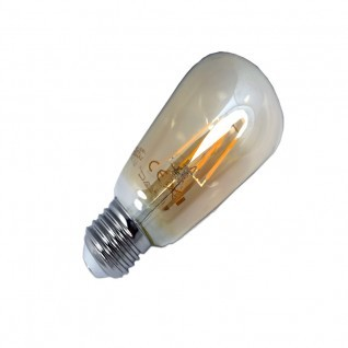 Bombilla de filamento led 4W E27 ST64
