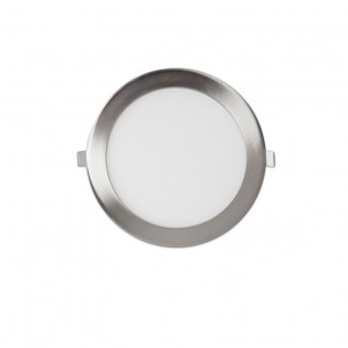 Downlight led 12W níquel