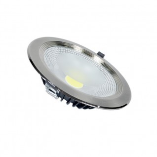 Downlight led 30W inox