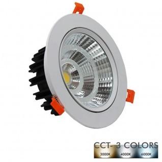 Downlight LED Empotrable 25W 120º - CCT- Color Seleccionable