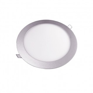 downlight led plata redondo 18W