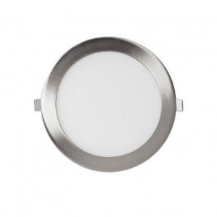 downlight led 18W níquel