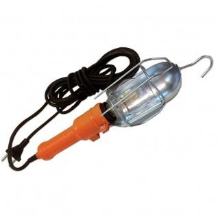 Lámpara portátil PVC con interruptor y pantalla