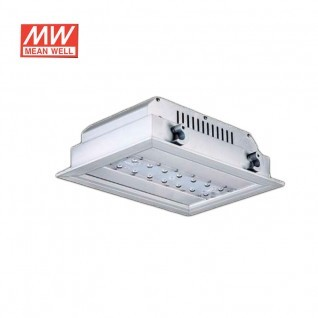Led empotrable 40W driver MEANWELL alta eficiencia