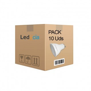 Pack 10 ud bombillas gu10 7W