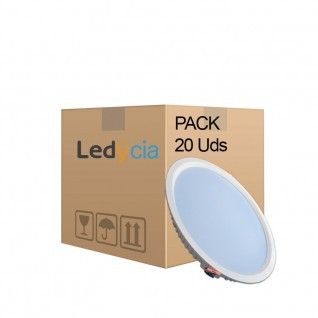 Pack 20 downlights led 32W