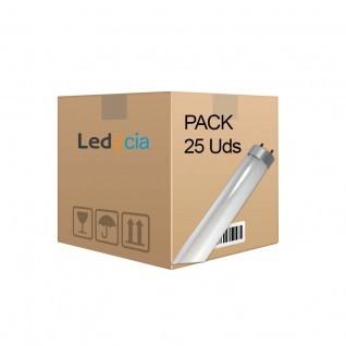 Pack 25 tubos led 18W 120cm