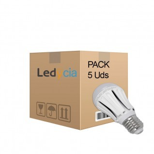 Pack ahorro 5 Bombillas led 10W E27