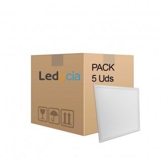 Pack 5 ud paneles led 60x60 cm 40W