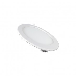 Placa ultrafina downlight led circular 12W
