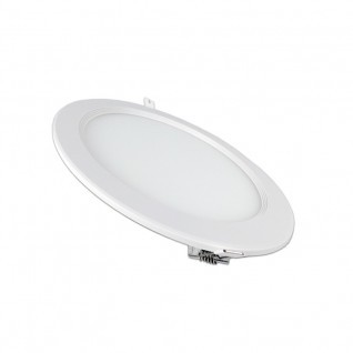 Placa ultrafina downlight led circular 18W