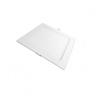 Placa ultrafina downlight led cuadrada 12W