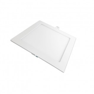 Placa ultrafina downlight led cuadrada 18W