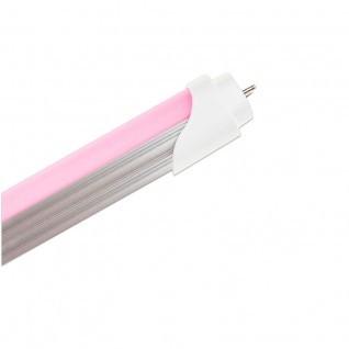 Tubo led rosa T8  17W 1200 mm