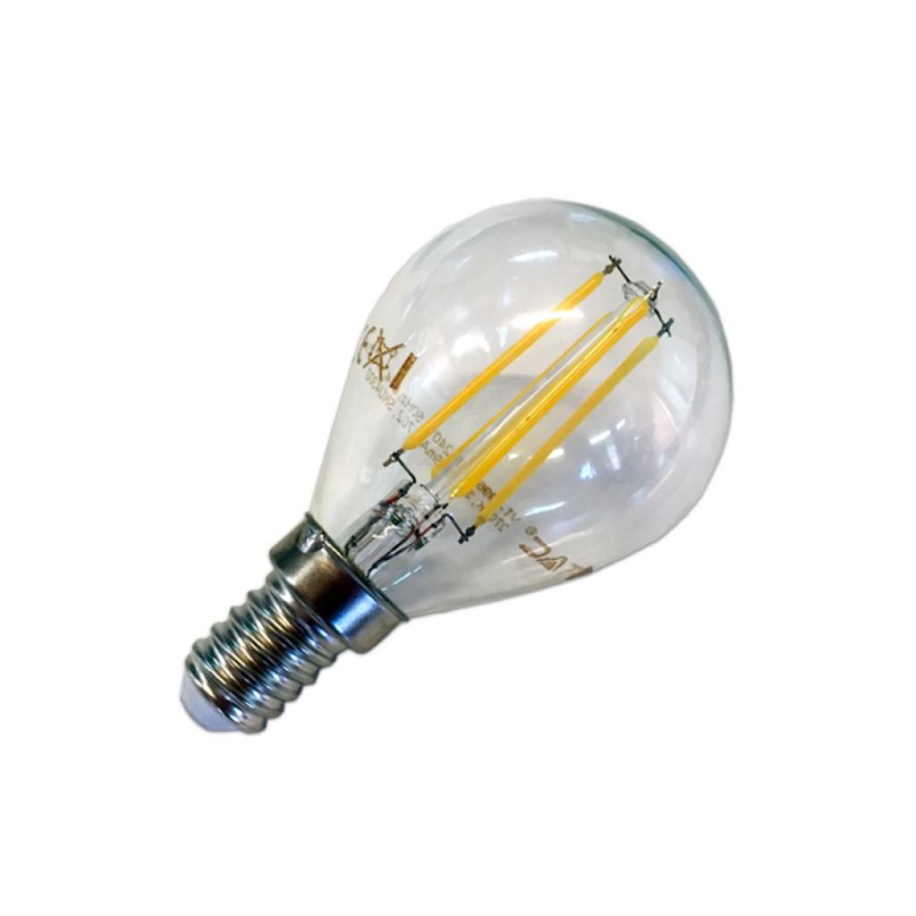 Bombilla de filamento led 2w e14 luz c lida 300 180 - Bombilla de led ...