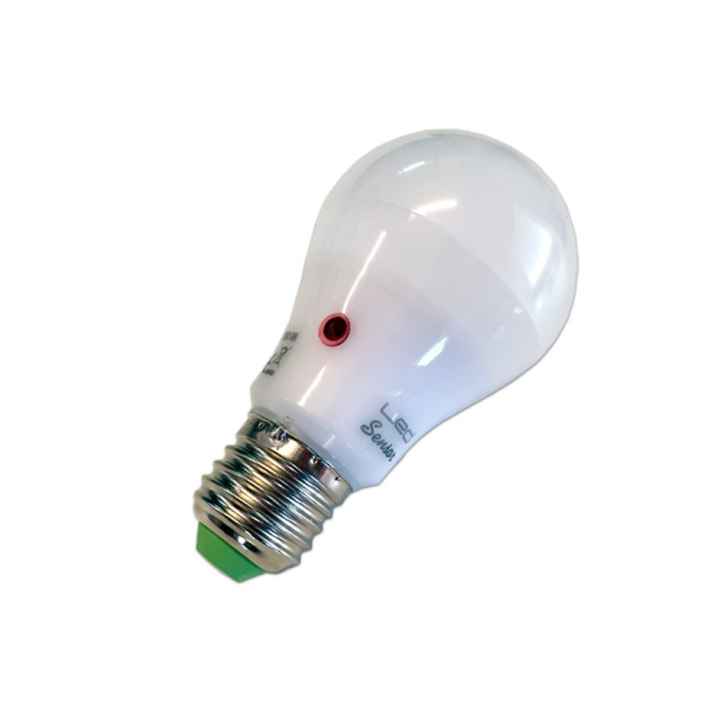 Lampara led sensor crepuscular