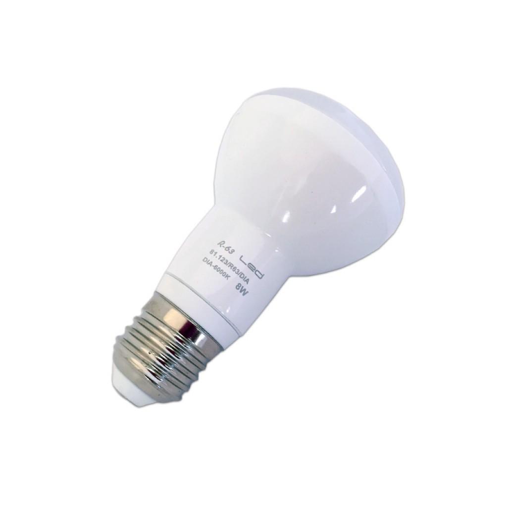 Bombilla reflectora led r63 e27 luz blanca y c lida 590 - Bombilla led e27 ...