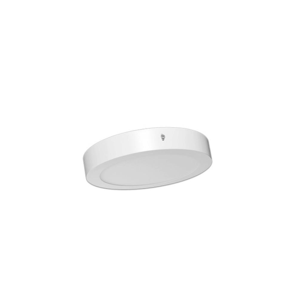 Plaf n led circular 12w 750 l menes luz blanca neutra o c lida for Luz blanca o calida