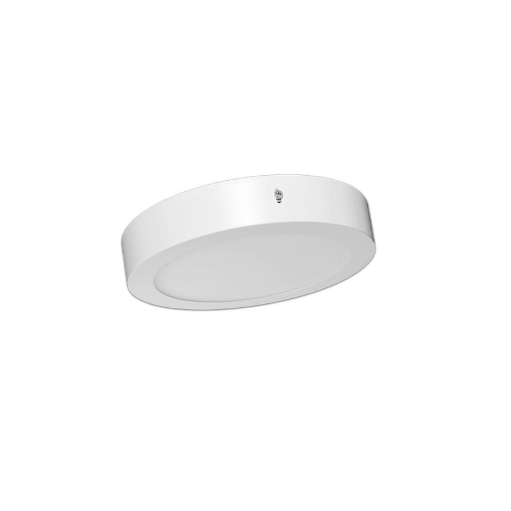 Plaf n led circular 18w luz blanca neutra o c lida for Luz blanca o calida