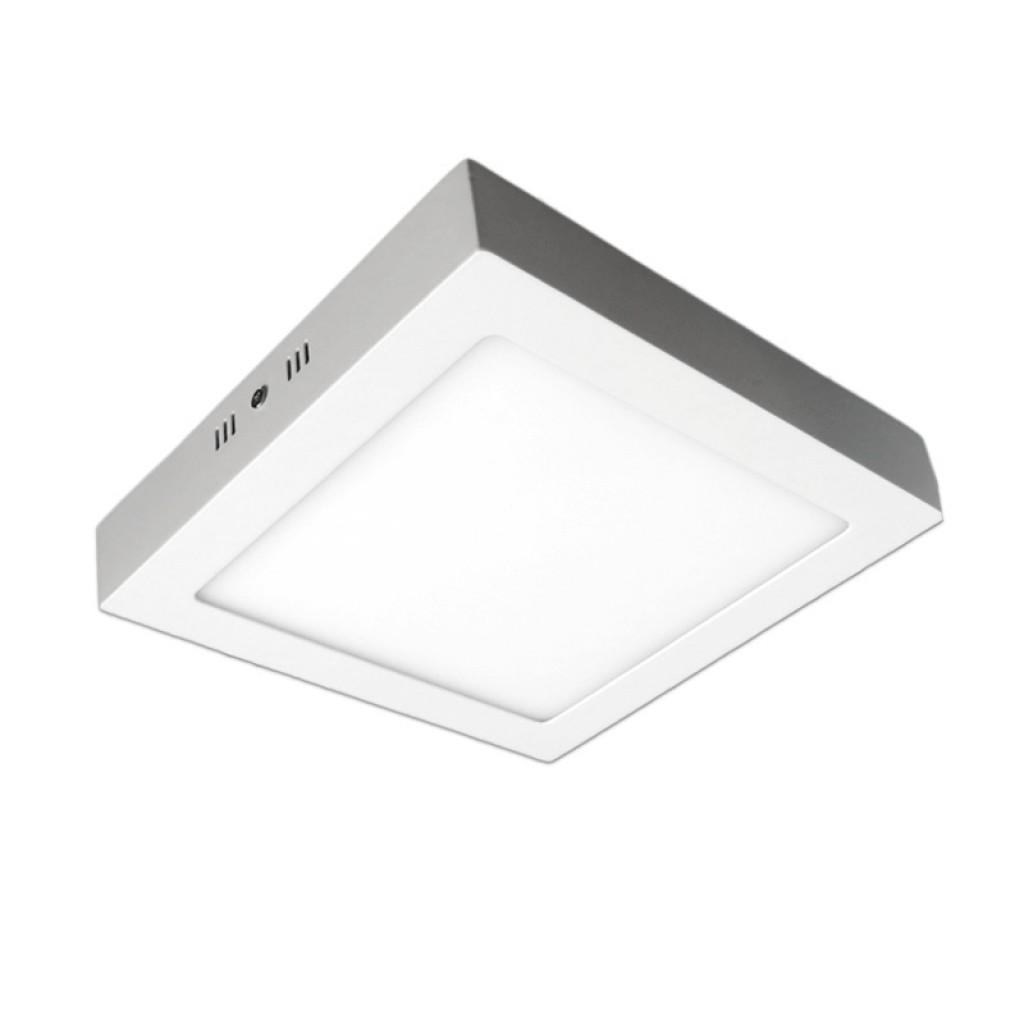 Plaf n led cuadrado 24w luz blanca neutra o c lida for Plafones cuadrados de pared